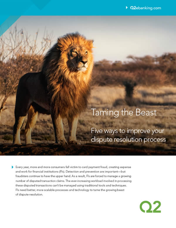 Tame the Beast: Five ways to improve your dispute resolution process