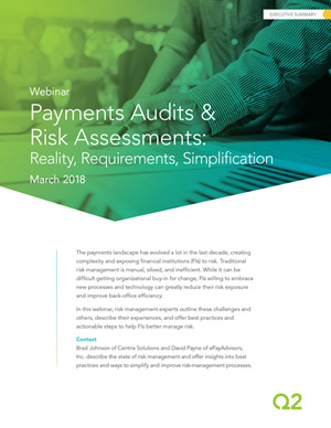 Payments Audits & Risk Assessments