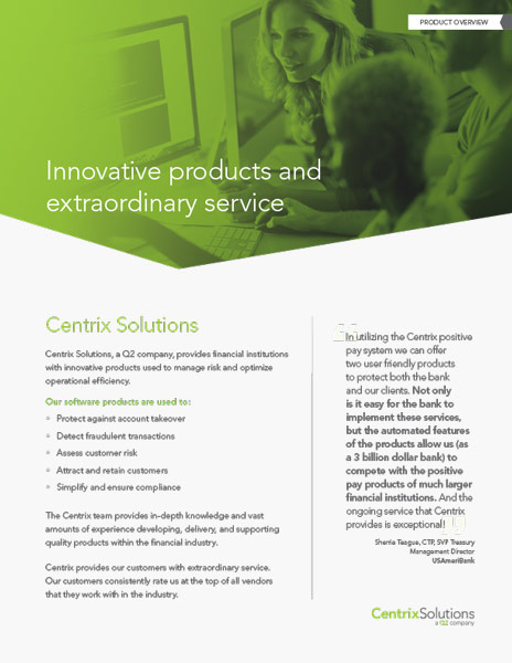 CentrixDTS Product Overview